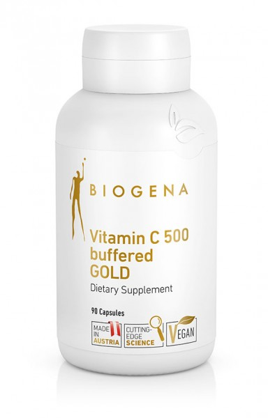 Biogena Vitamin C 500 buffered Gold